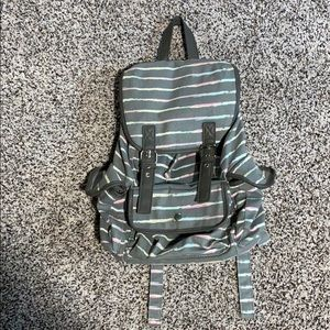 Medium Candie's Faux Leather/Cloth Backpack